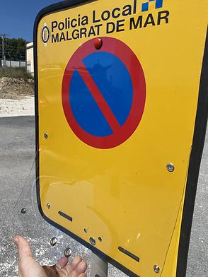 comprar señales de prohibido aparcar