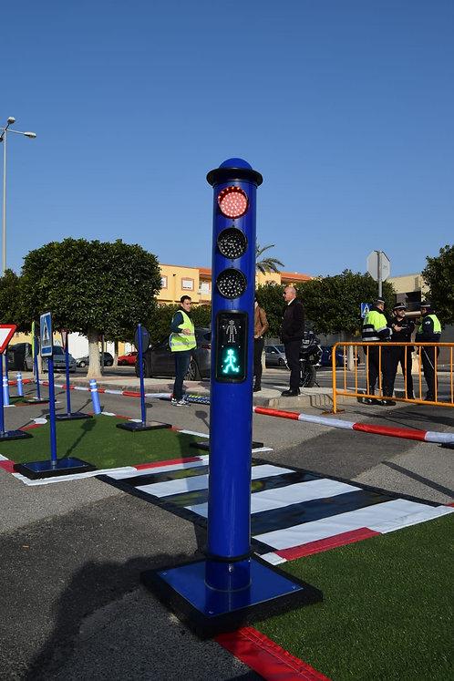 Conjunto de 2 semáforos
