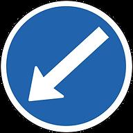señal obligación