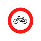 R-114 Entrada prohibida a ciclos.