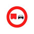 R-306 Adelantamiento prohibido para camiones.