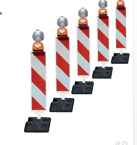 SECUENCIAL LED DE 5 ELEMENTOS Y DESTELLOS (Ref. 8025N)