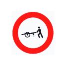 R-115 Entrada prohibida a carros de mano.