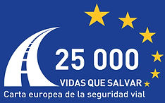 Logo carta europea seguridad vial