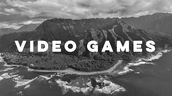 Black and White Video Games Wallpaper