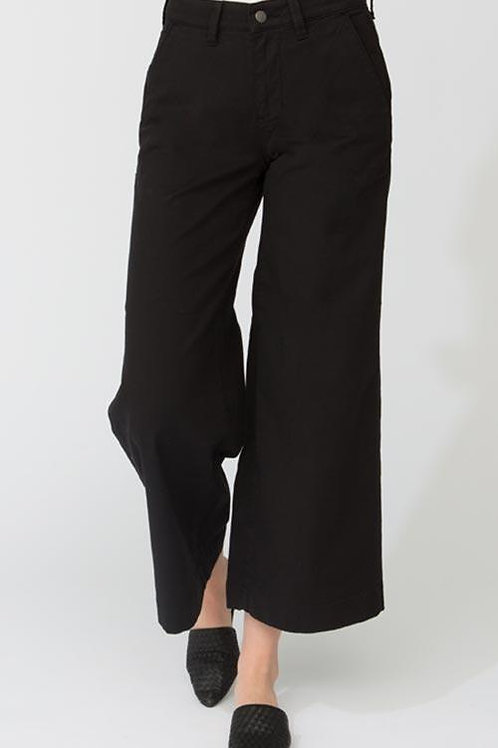 DISH - Move Freely Wide Leg Crop Pant