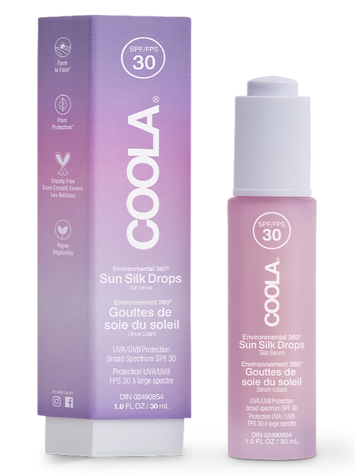 COOLA - Full Spectrum 360° Sun Silk Drops Organic Sunscreen SPF 30