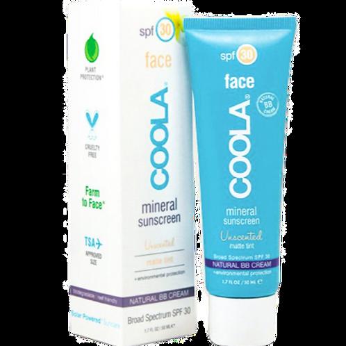 COOLA - Mineral Matte Tint Face SPF 30 Unscented