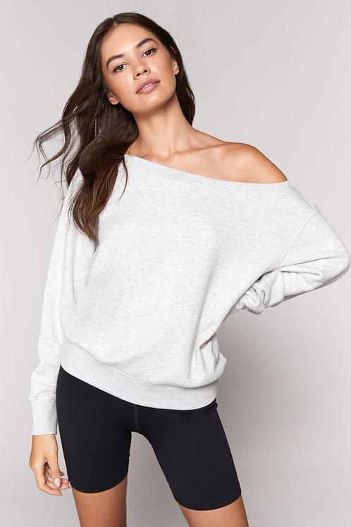 SPIRITUAL GANGSTER - Vida Off Shoulder Sweatshirt