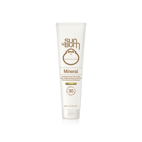 SUN BUM - Mineral Tinted Sunscreen Face Lotion SPF30