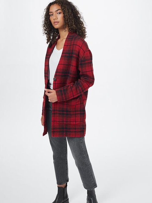 TENTREE- Flannel Cocoon Cardigan