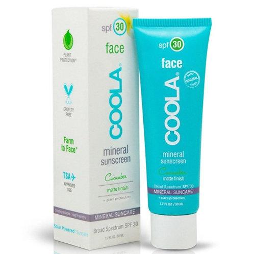 COOLA - Mineral Cucumber Matte SPF 30 Face
