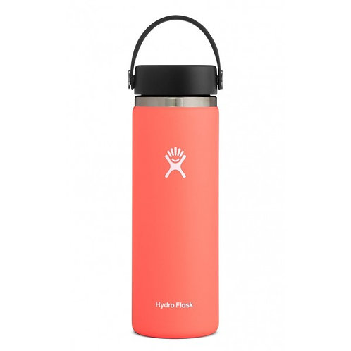 HYDROFLASK 20 OZ WIDE MOUTH HIBISCUS
