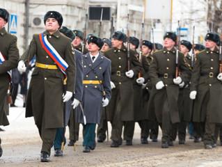 Воины Омского гарнизона торжественным маршем пройдут по Соборной площади