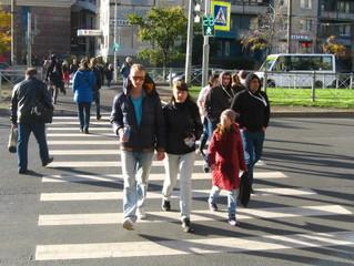 Оживленный перекресток станет более безопасным для пешеходов