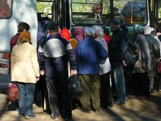 Дачные автобусы продолжают перевозки в рабочем режиме