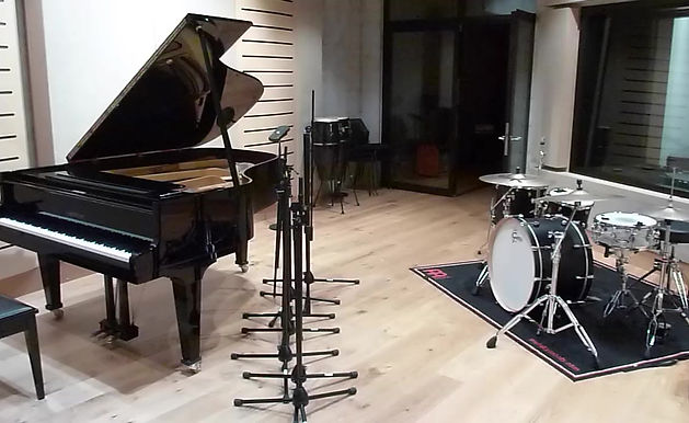 Konarucchi 'Empty Mind' Recording Session Set-Up