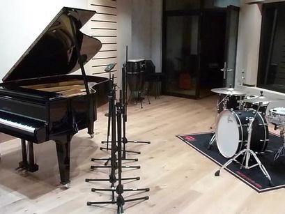 'Empty Mind' Recording Set-Up