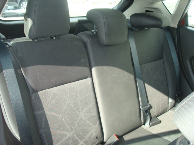 2013 Ford Fiesta rear seat