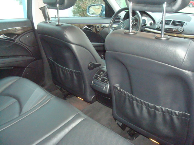 2009 Mercedes E-350 rear seat 2