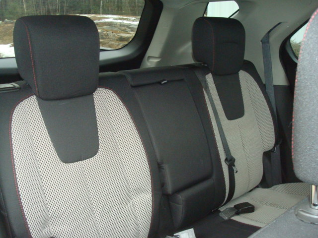 2011 Chevy Eq rear seats