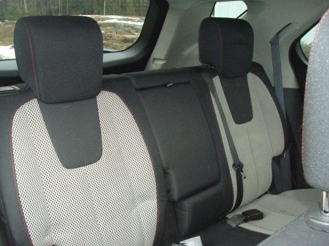 2011 Chevy Eq rear seats