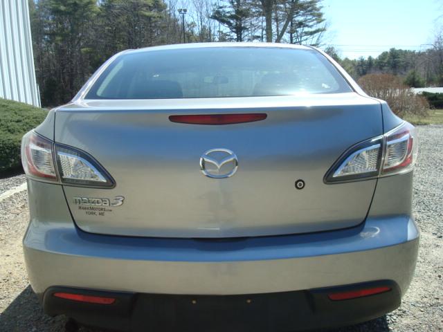 2011 Mazda 3 tail