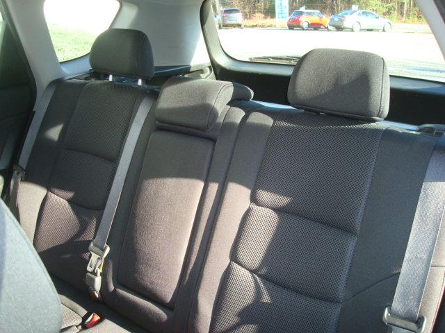 2012 Hyundai Elantra rear seats