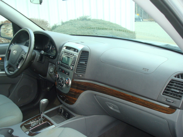 2012 Hyundai Santa Fe dash