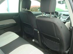 2011 Chevy Equinox rear seat