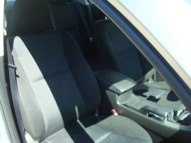 2011 Mazda 3 pass seat