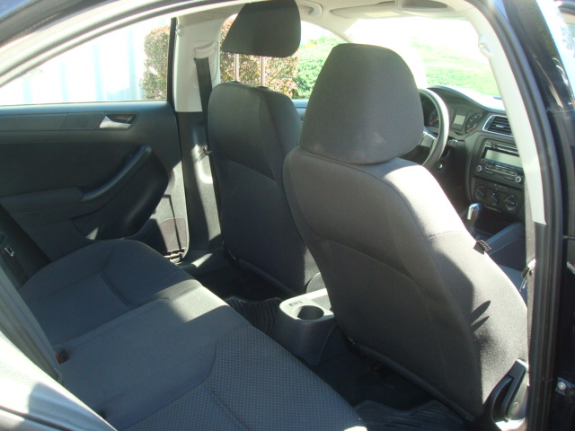 2011 VW Jetta rear seats