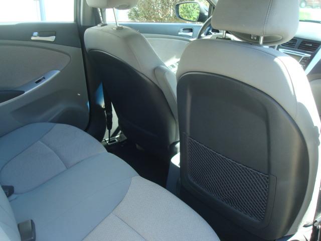 2012 Hyundai Accent rear seats 2