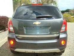 2013 Chevrolet Captiva tail