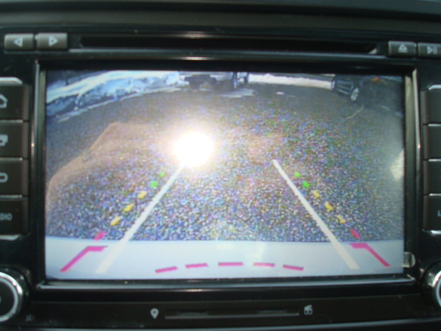 2013 VW Jetta back up camera