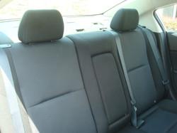 2010 Mazda 3 rear seats 2