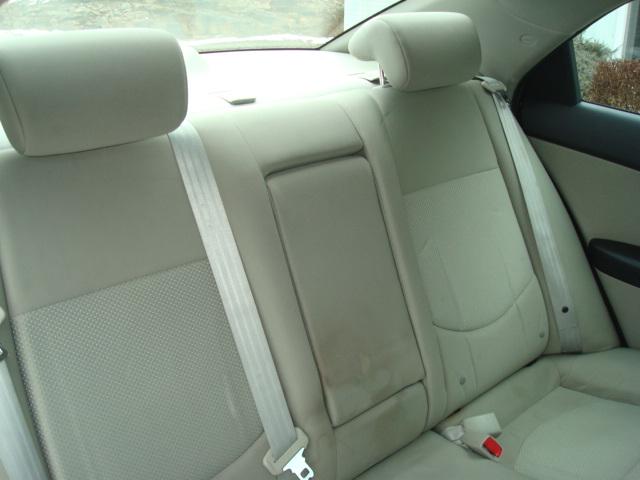2012 Kia Forte rear seat