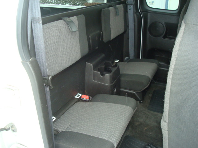 2009 Chevy Colorado rear seat