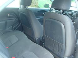 2012 Kia Rio rear seat