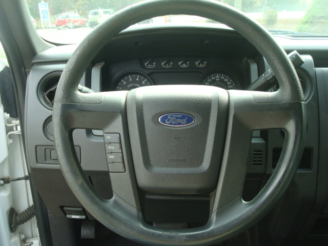 2011 Ford F-150 steering