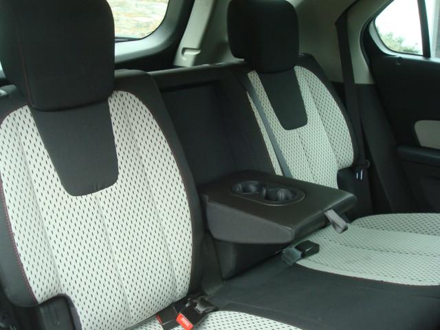 2011 Chevy Equinox rear seats