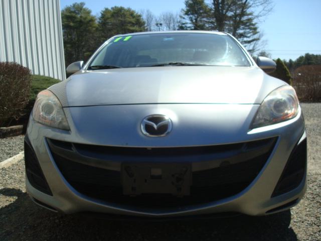 2011 Mazda 3 hood