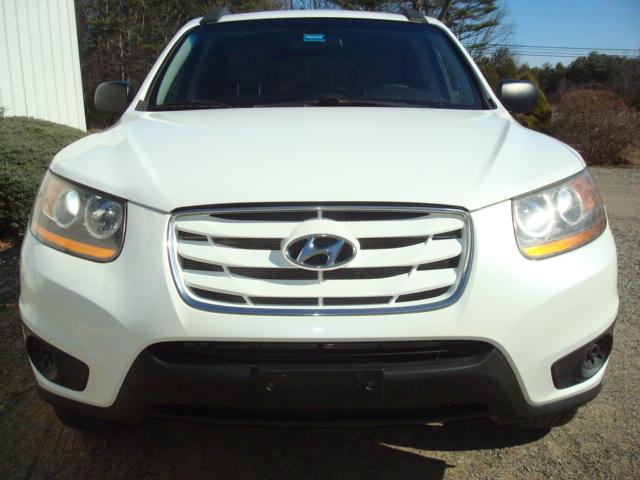 2010 Hyundai Santa Fe hood