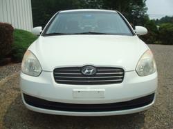 2009 Hyundai Accent hood
