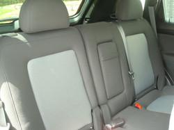 2013 Chevrolet Captiva rear seats