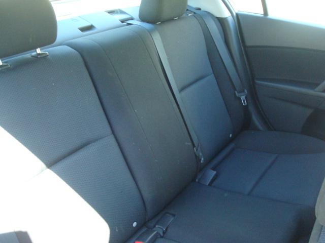 2011 Mazda 3 rear seat