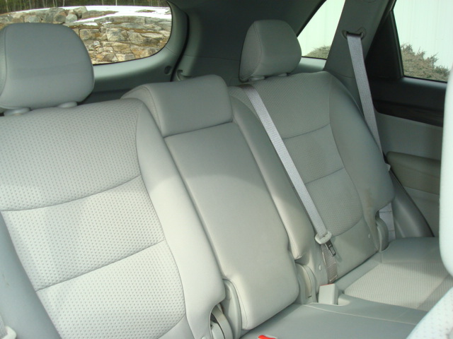 2011 Kia Sorento rear seat