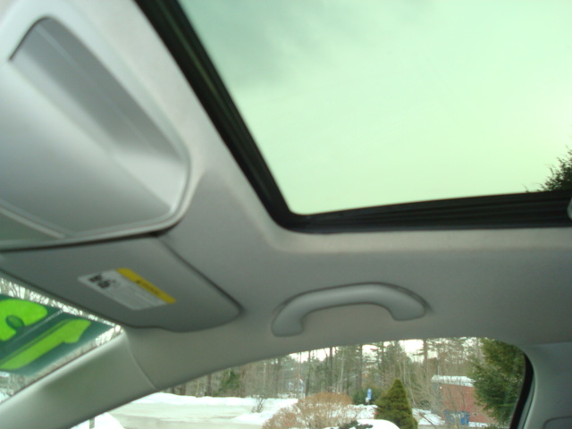 2013 VW Jetta sun roof