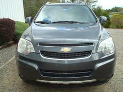 2013 Chevrolet Captiva hood
