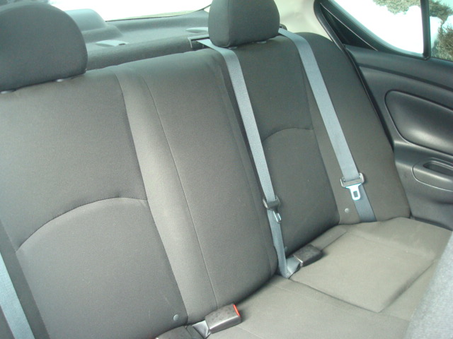2015 Nissan Versa rear seat